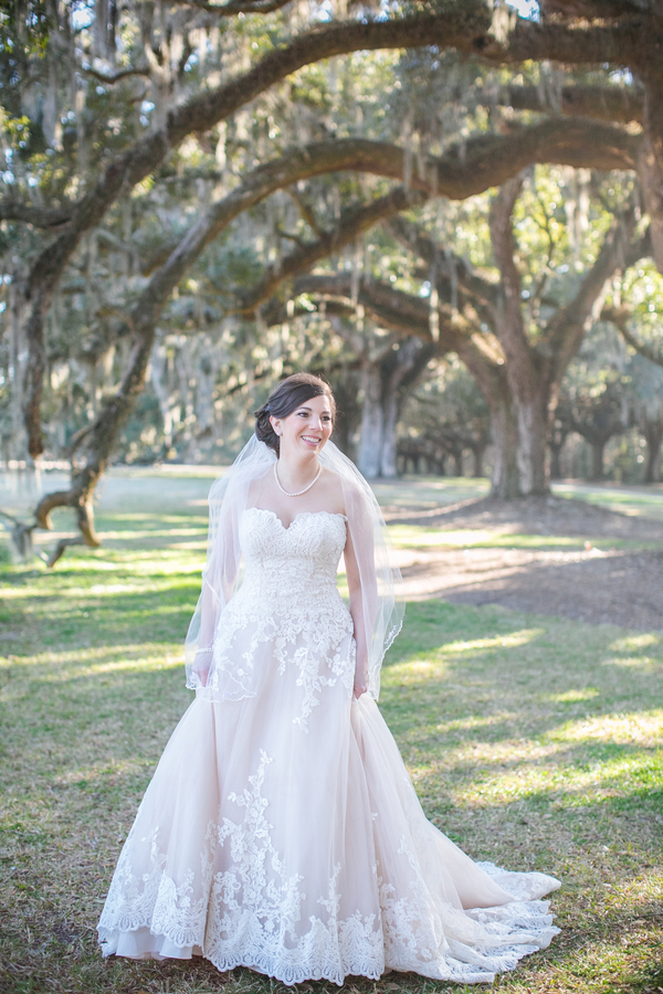 Katie Jones Bjorkman's Charleston Bridal Portraits at Boone Hall