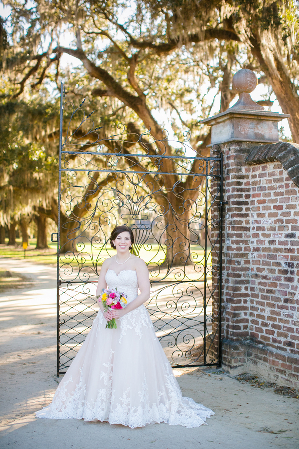 Boone Hall Bridal Portraits by Dana Cubbage Photography
