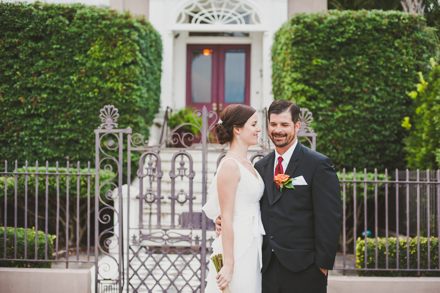 Charleston wedding at White Point Gardens