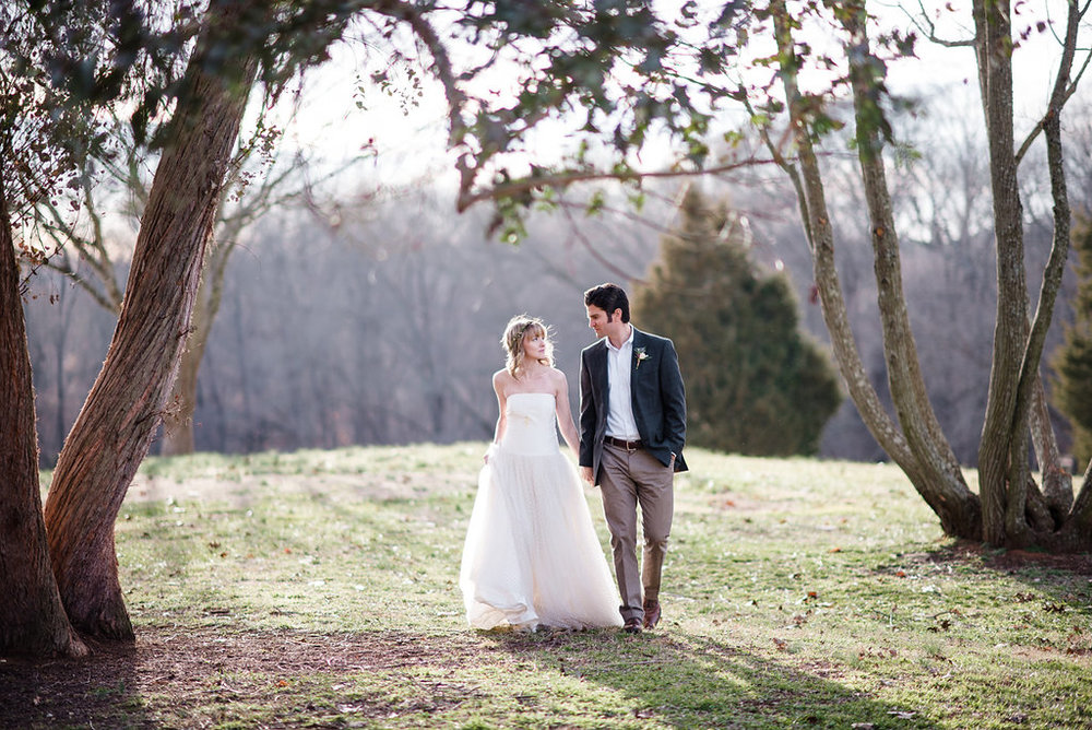 Rustic Southern Wedding Inspiration by Emily Millay Photography