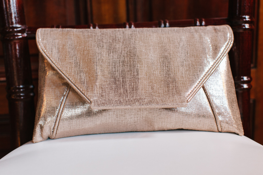 Charleston wedding clutch