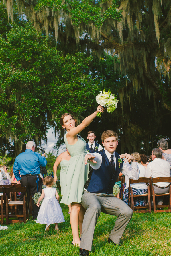Kaitlyn & Wade Sugg's Magnolia Plantation and Gardens wedding