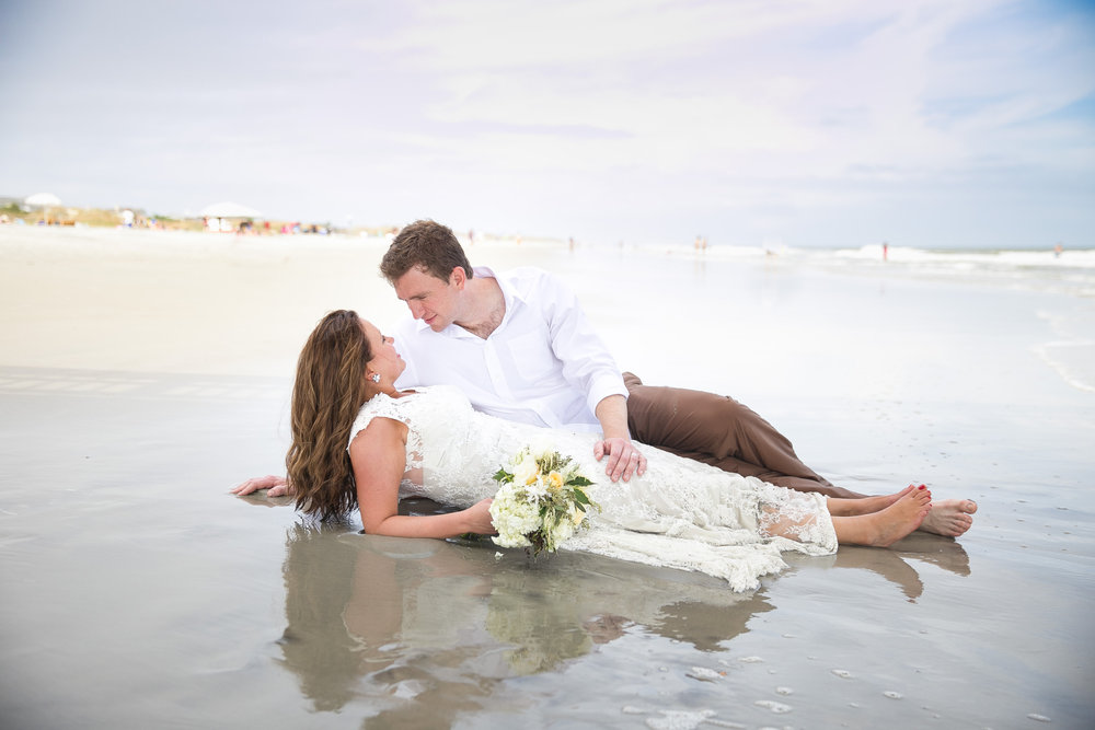 Tybee Island Wedding Day After Session