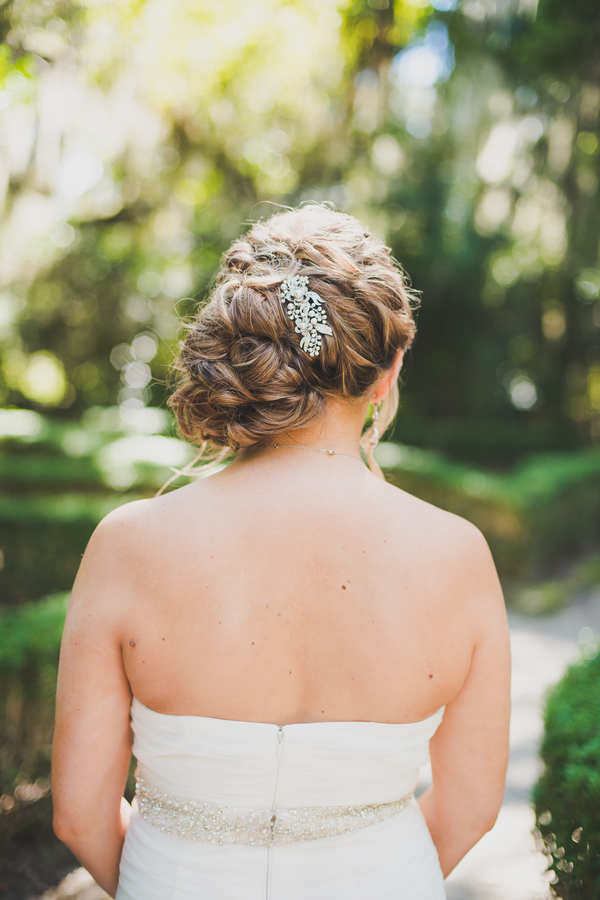 Charleston wedding hair