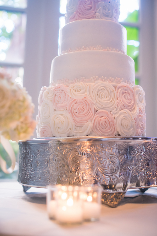 Charleston wedding cake