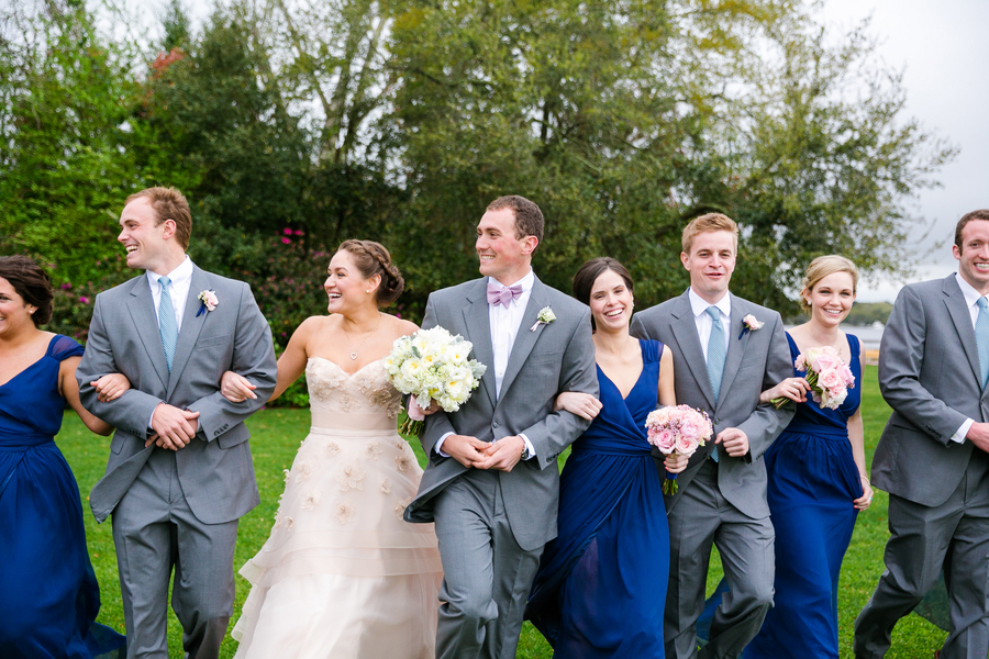 Charleston Bridal party