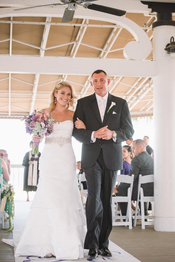 Wild Dunes Wedding ceremony