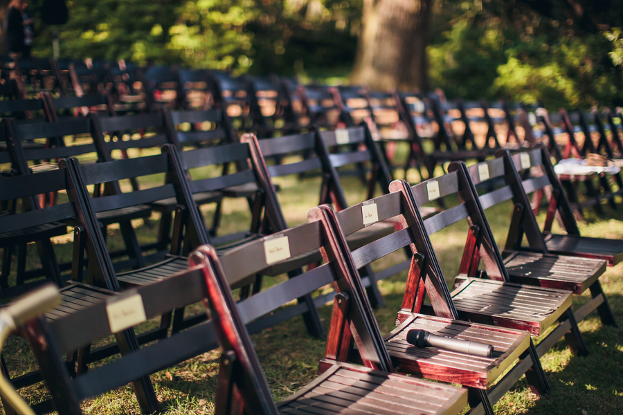 Legare Waring House wedding chairs