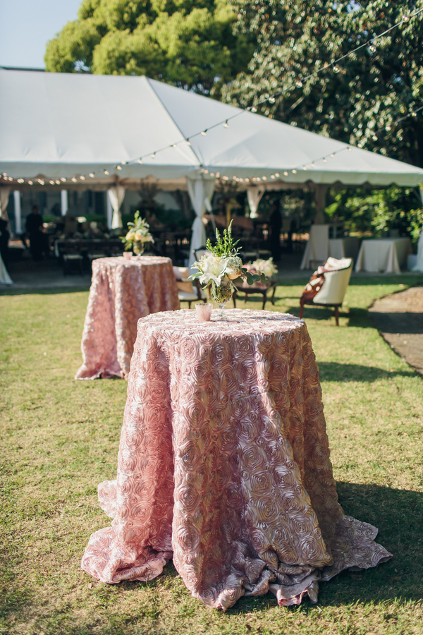 Charleston wedding decor