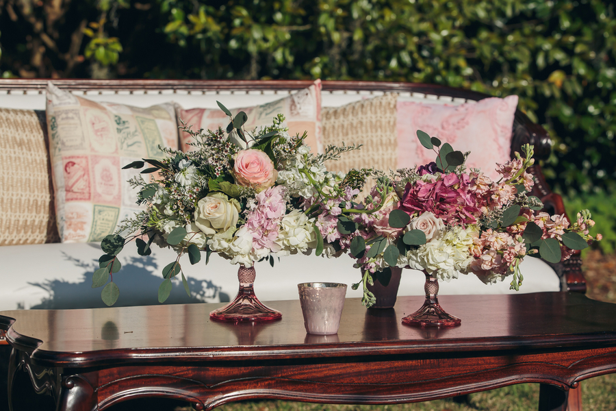 Vintage Charleston wedding rentals