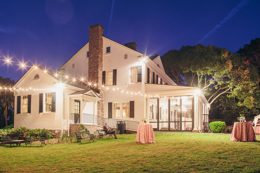 Evening Legare Waring House wedding wedding