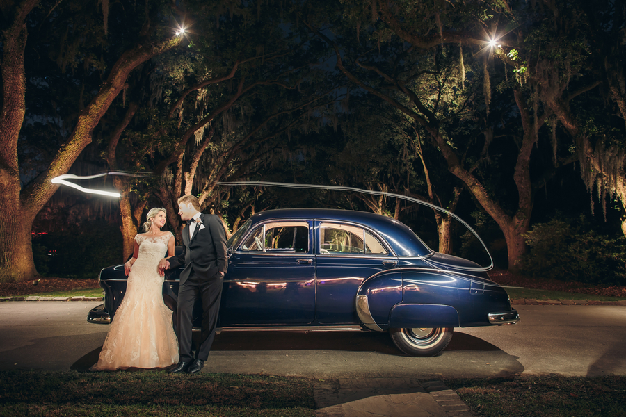 Vintage Charleston getaway car