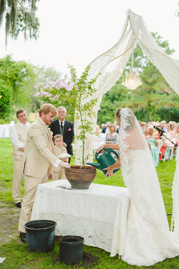 Charelston wedding ceremony