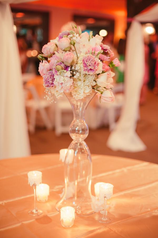 Pink Charleston wedding