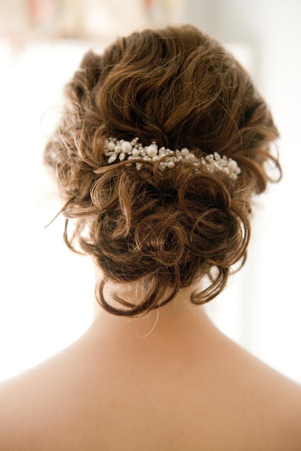Charleston Wedding Hair Up-do