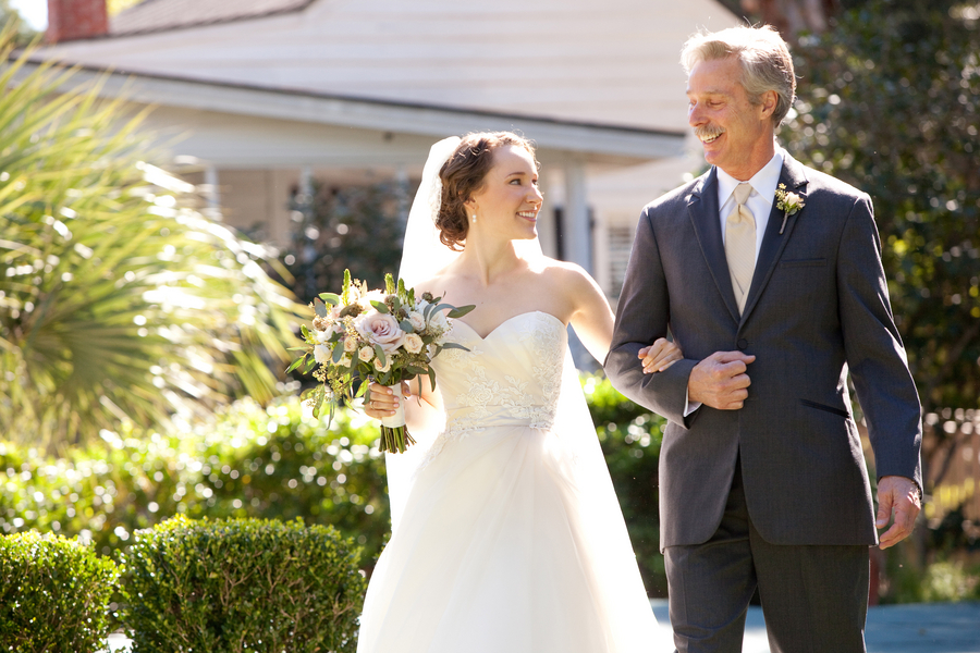 Father of the Bride at Charleston wedding