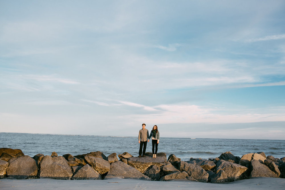Charleston Beach Engagement