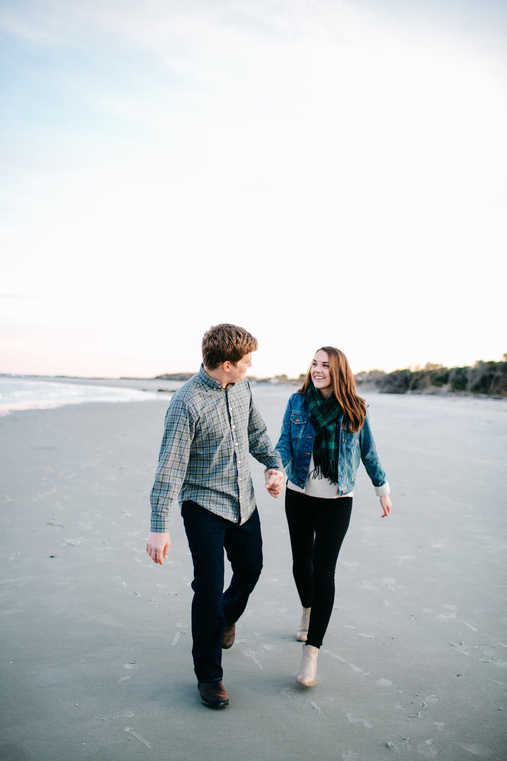 Beach Engagement in Charleston, SC