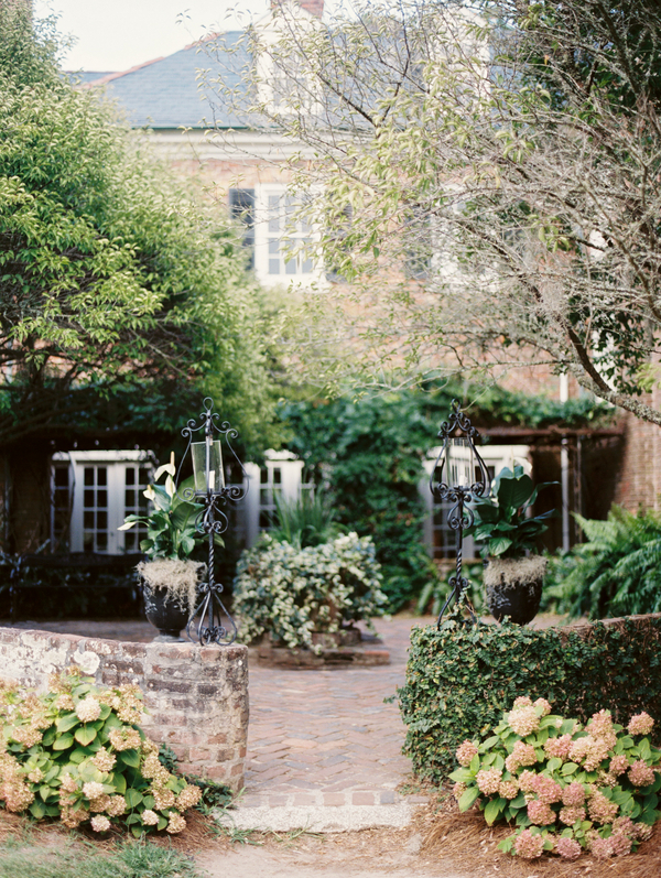 Boone Hall Plantation Courtyard
