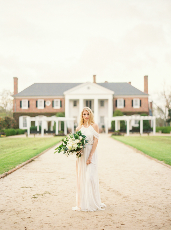 Charleston wedding inspiration at Boone Hall Plantation