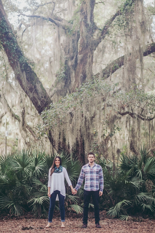 Lowcountry wedding Engagement session in Georgia