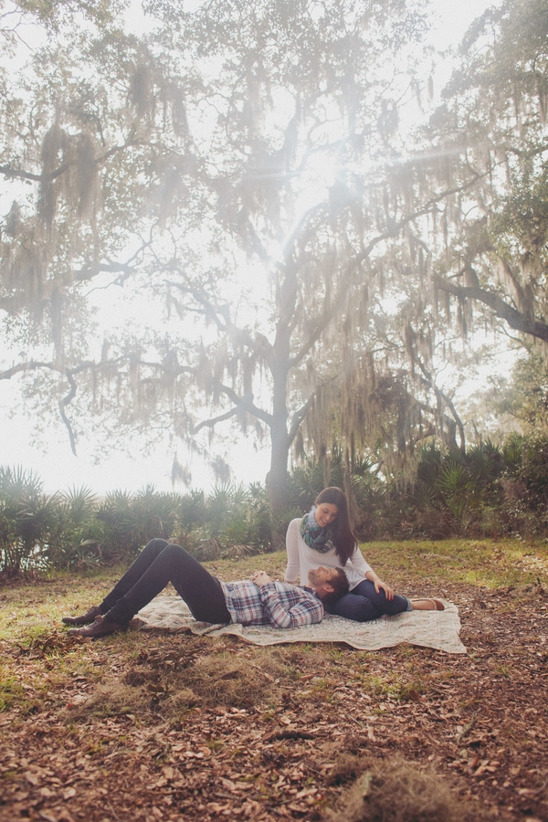 Coastal wedding Engagement in the Lowcountry