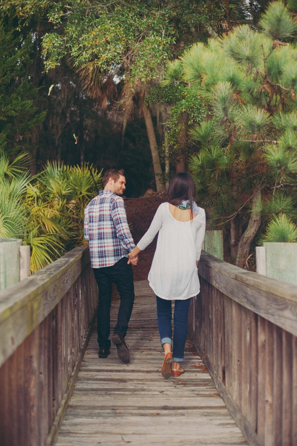 Coastal Georgia wedding Engagement session