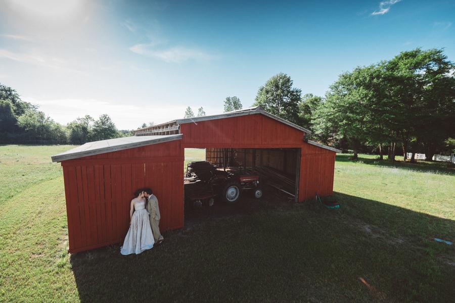Rustic South Carolina Farm Weddings