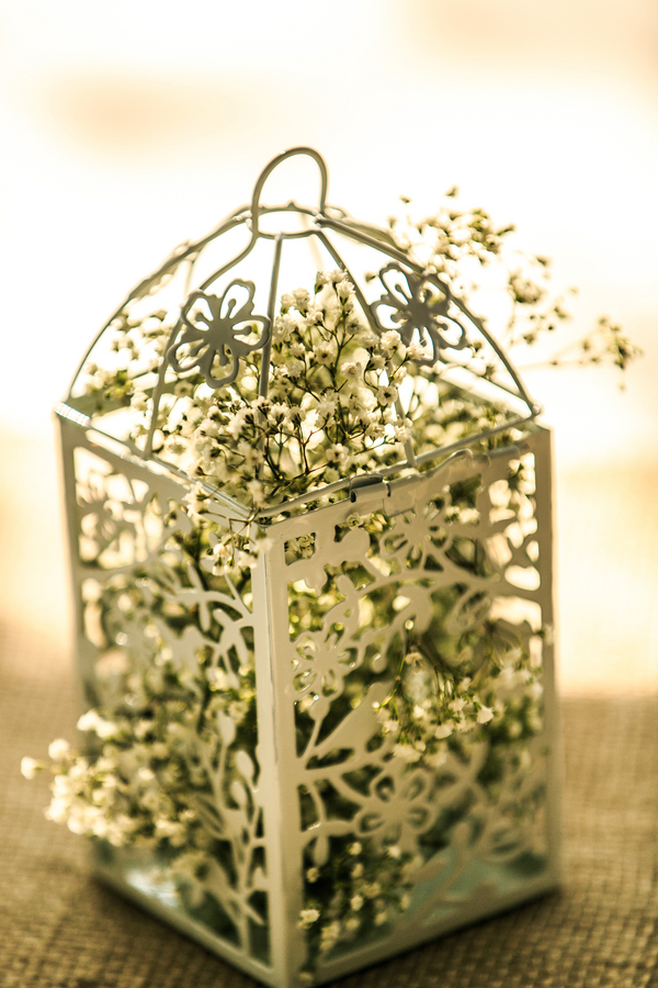 Baby's Breath Wedding Centerpiece