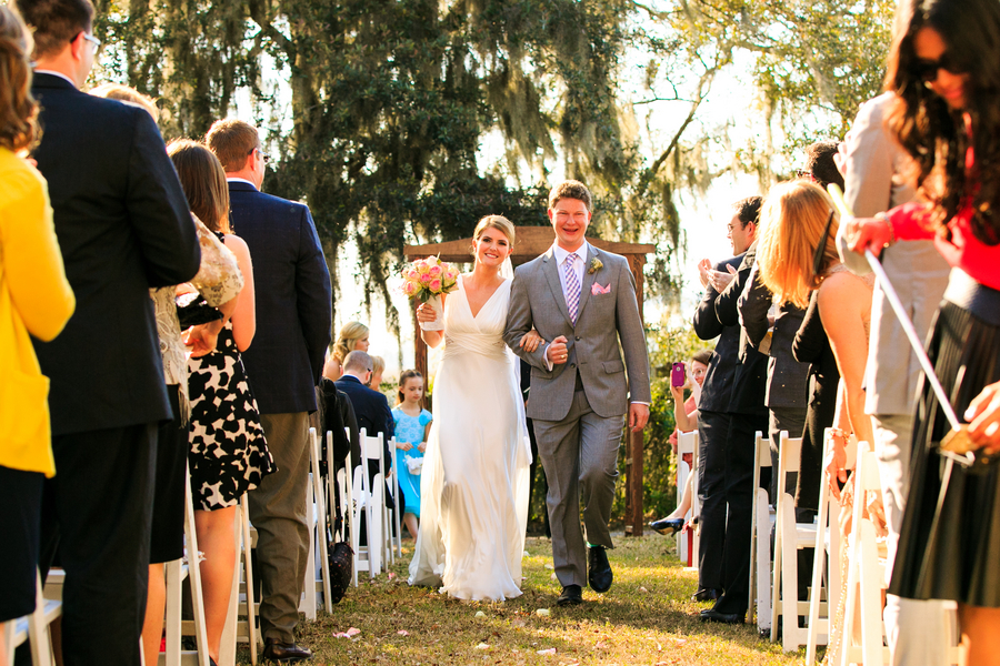 Charleston Wedding ceremony at Creek Club at I'On