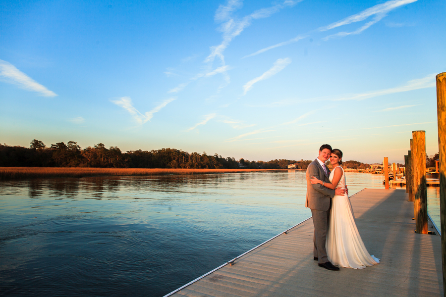 Charleston Wedding at Creek Club at I'On