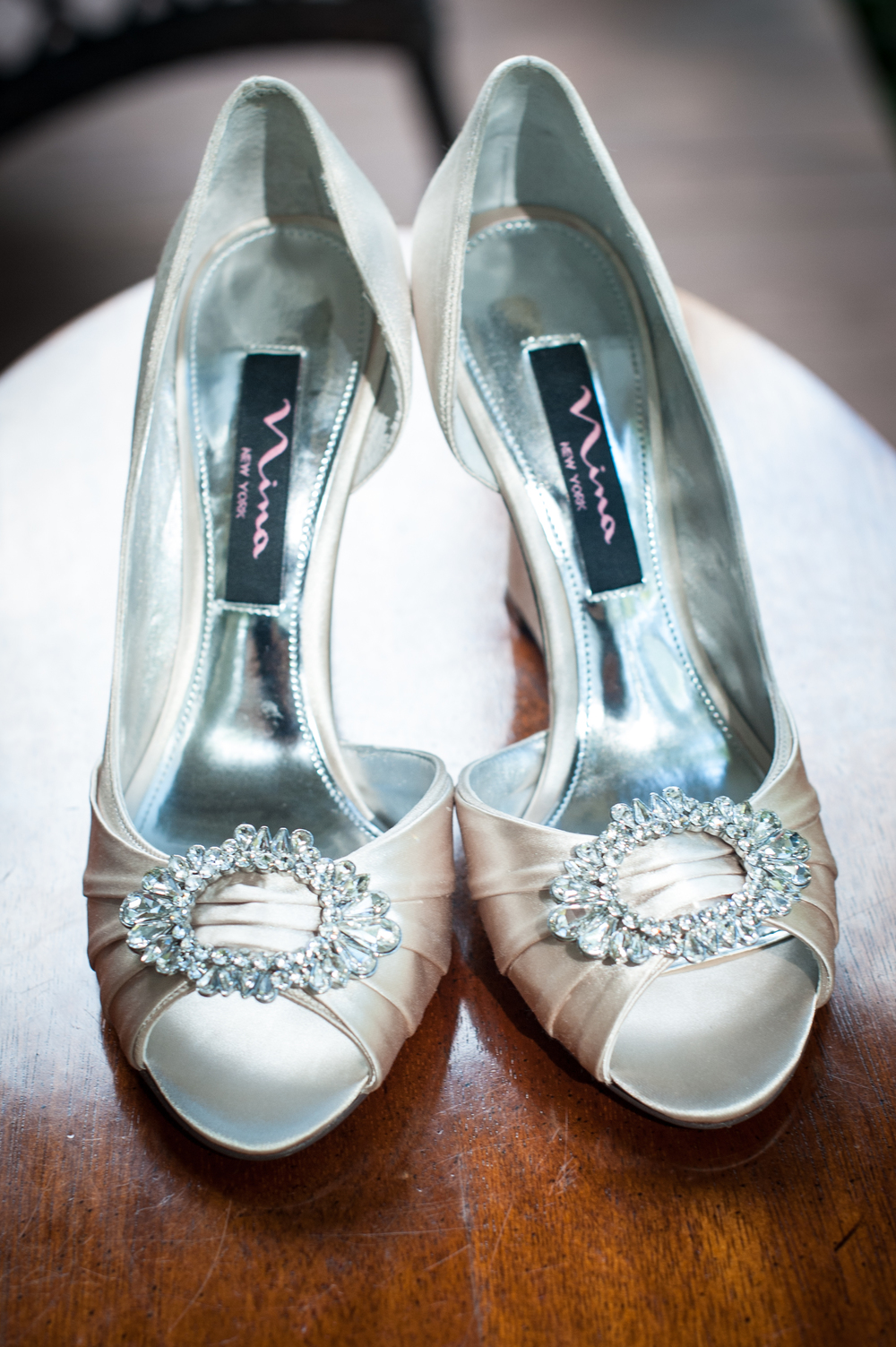 Silver Wedding Shoes at Brookland Pointe