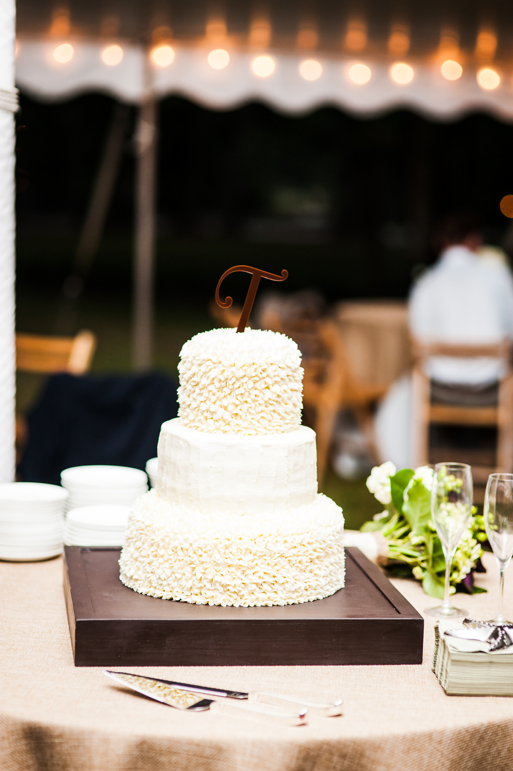 Edisto Island Wedding Cake
