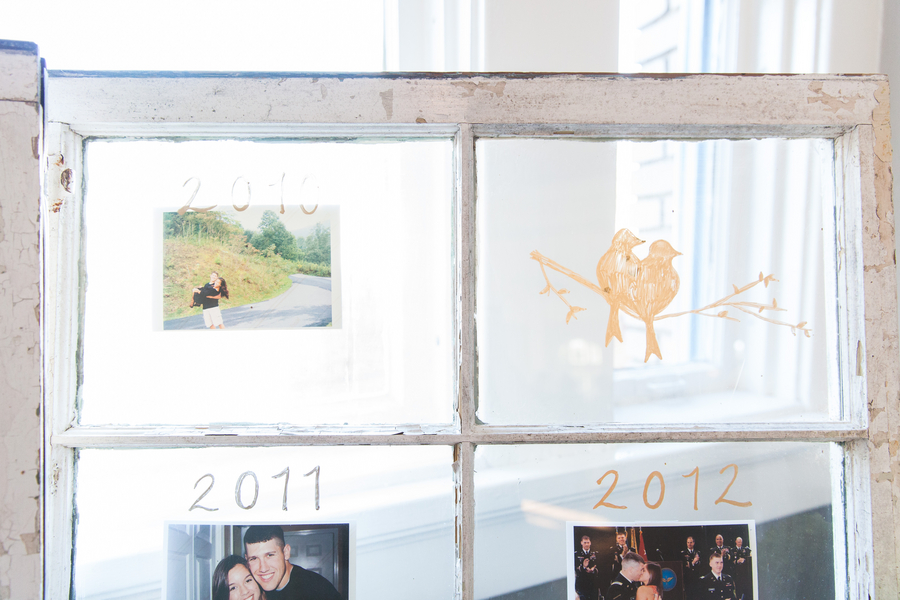 Window Frame Wedding Decor