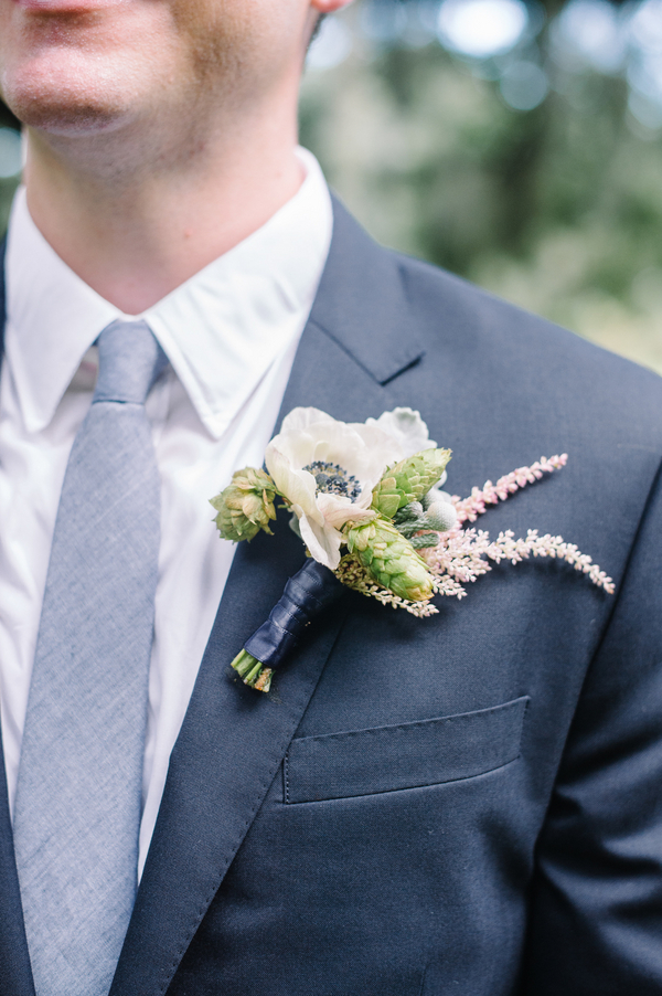 Charleston wedding boutonniere
