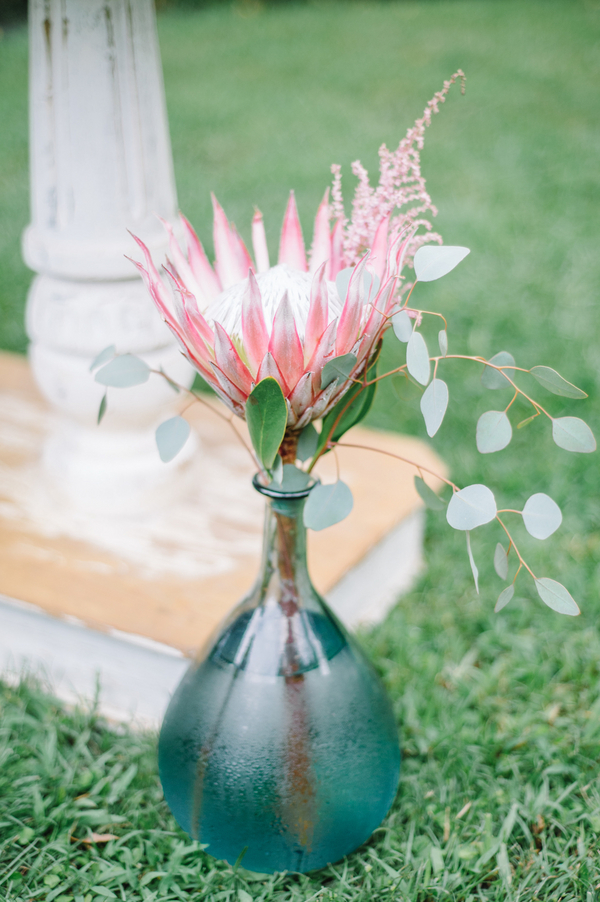 Charleston wedding protea