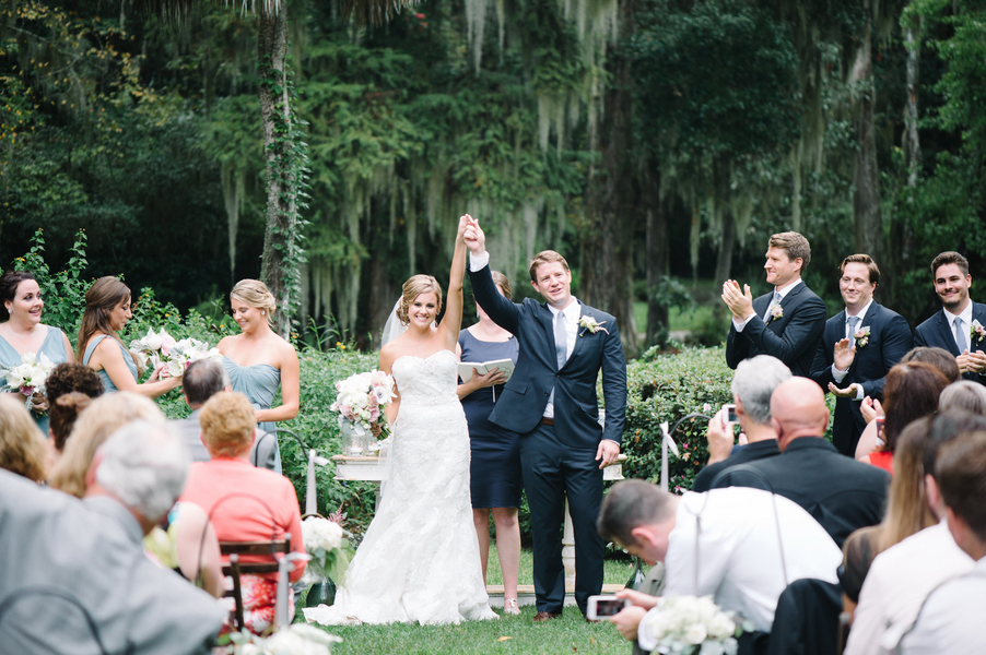 Magnolia Plantation wedding cermeony
