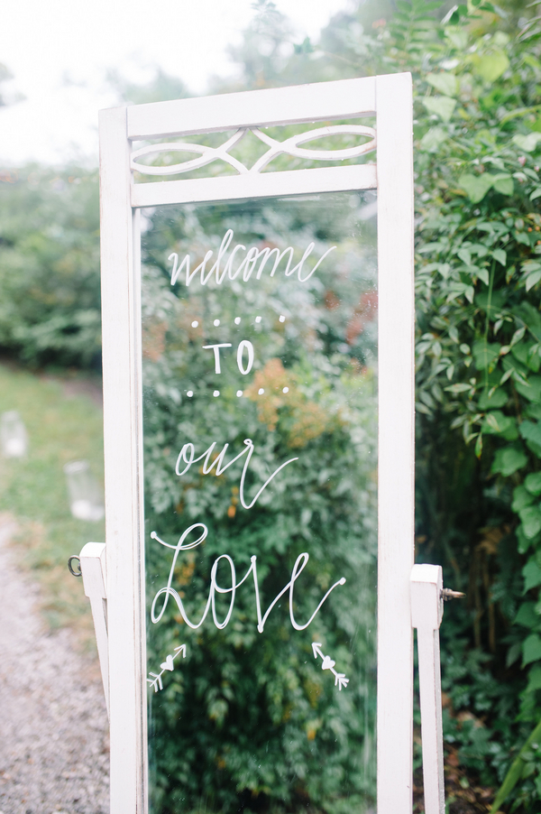 Charleston wedding mirror