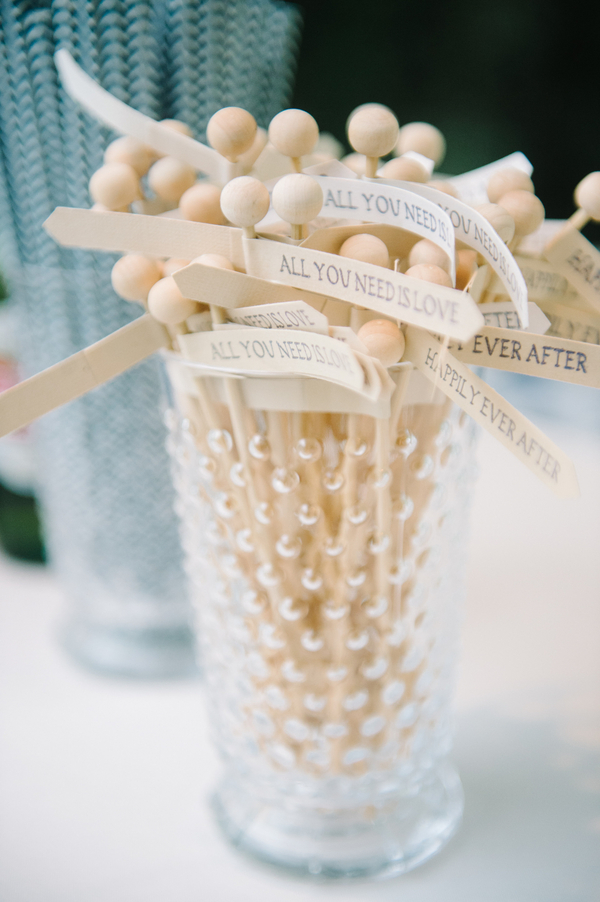 Charleston wedding drink stirrers