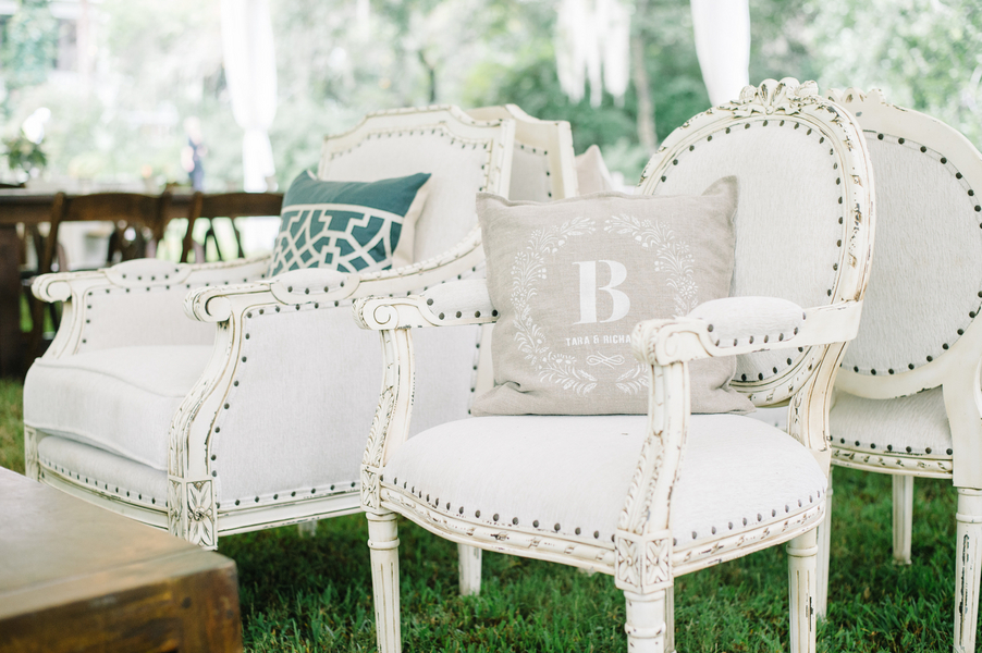 Charleston wedding lounge furniture