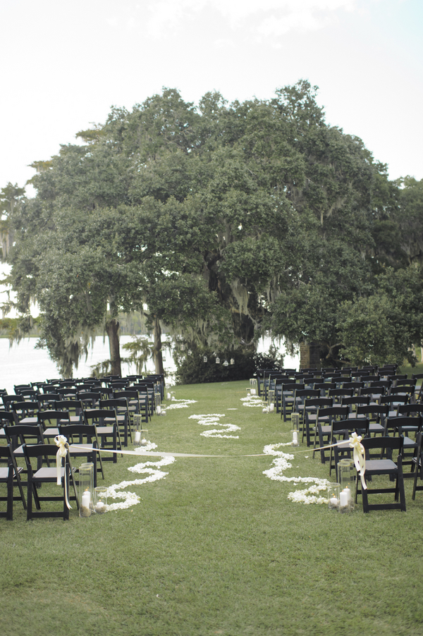 Wachesaw Plantation wedding ceremony