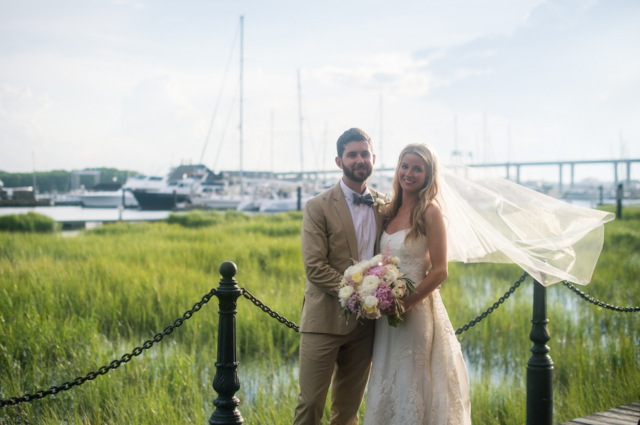 Laura & John McNamara's Historic Rice Mill Building wedding