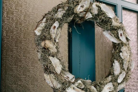 Myrtle Beach Wedding - Oyster Shell Wreath