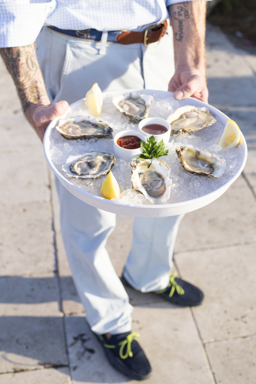 Lowcountry Weddings - Raw Oysters