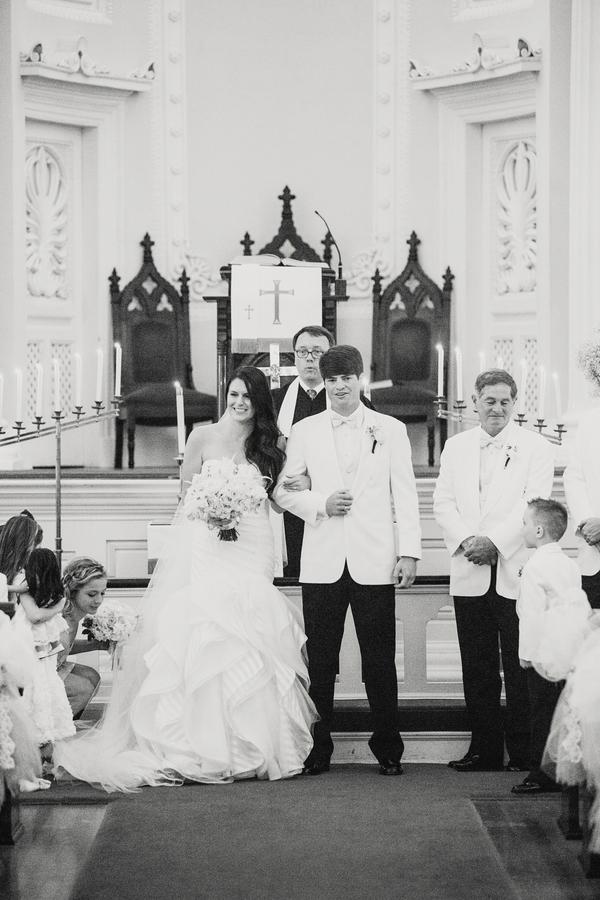 Courtney & Josephy's Charleston Church Wedding
