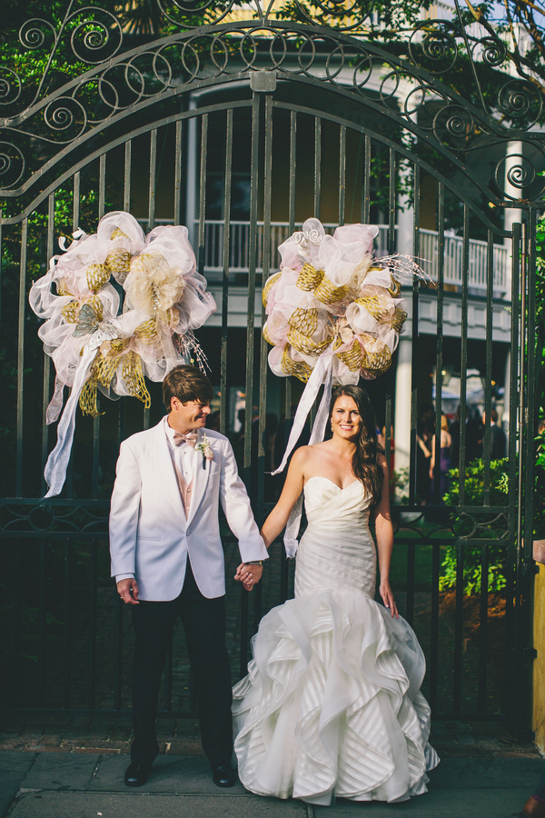 Courtney & Joseph's William Aiken House wedding designed by W.E.D.