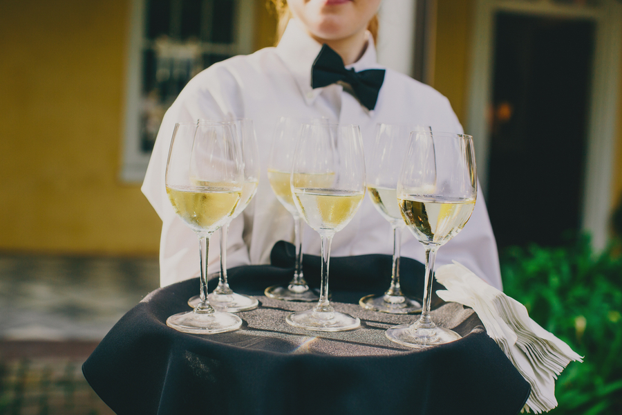 Gold & Pink Charleston wedding at William Aiken House