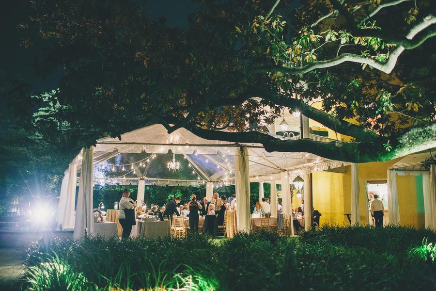 William Aiken House wedding