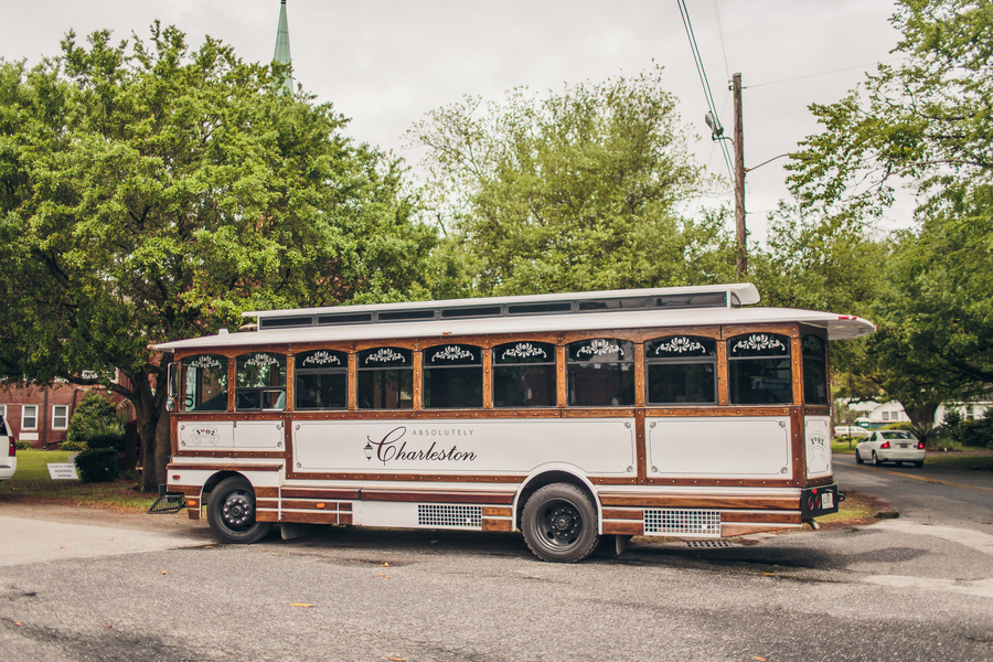 Charleston Wedding Trolley
