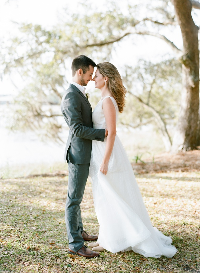 Lowcountry Wedding in Charleston SC at RiverOaks by